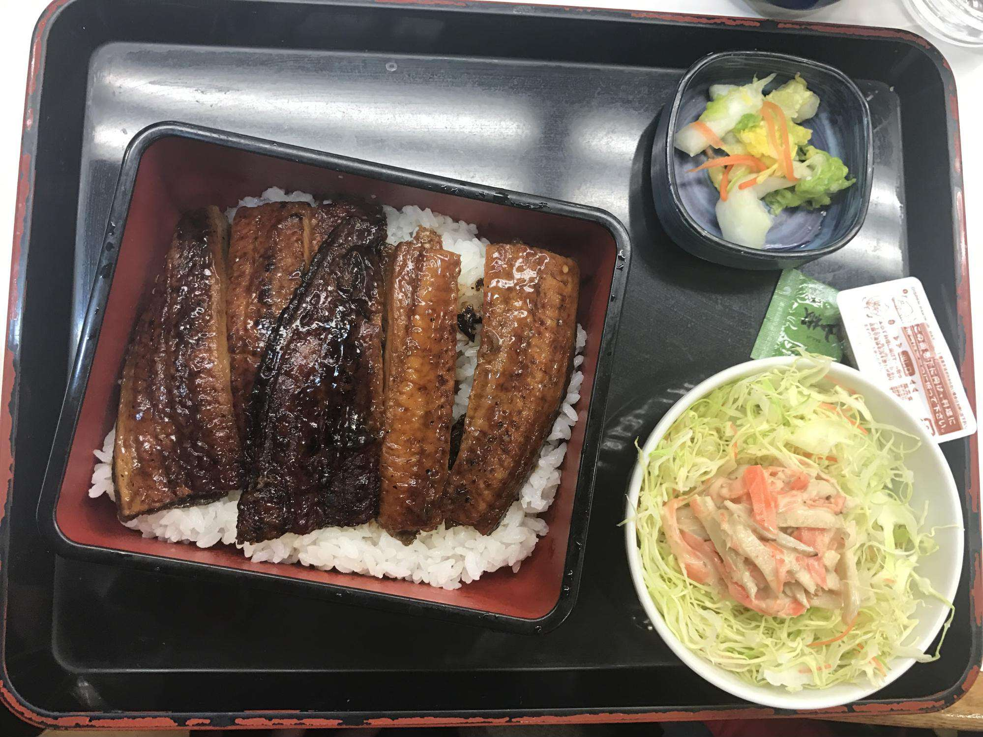 Japanese eel rice – our favourite dishes.