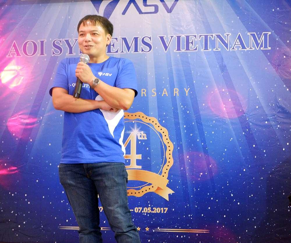 Anh Trịnh Thế Huynh - Tổng Giám Đốc rakumo xúc động chia sẻ về chặng đường mà rakumo đã đi qua