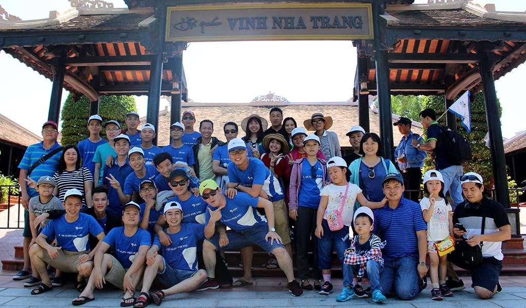 rakumo checked-in at Nha Trang.