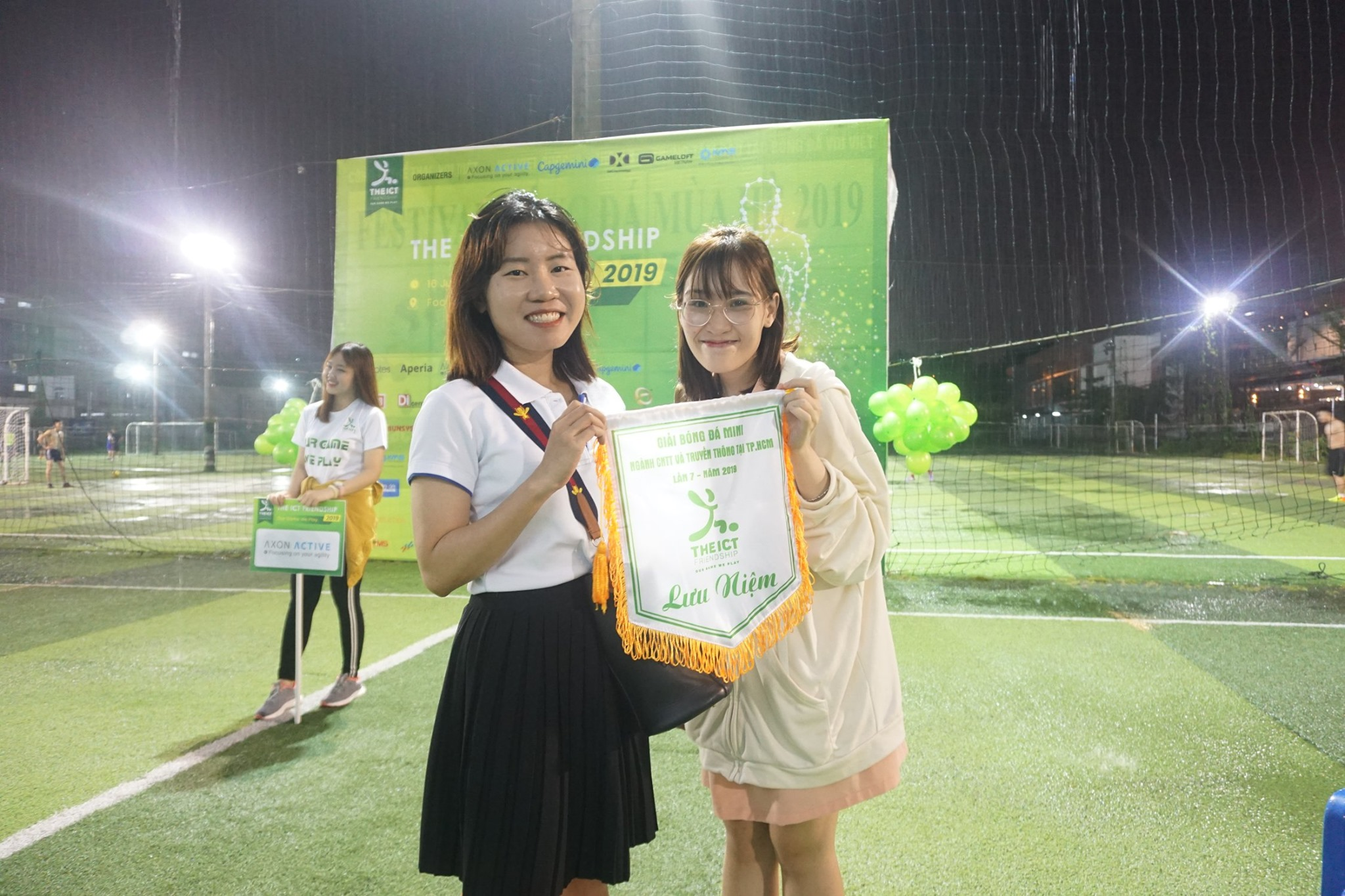 rakumo tham dự cúp ICT Friendship 2019