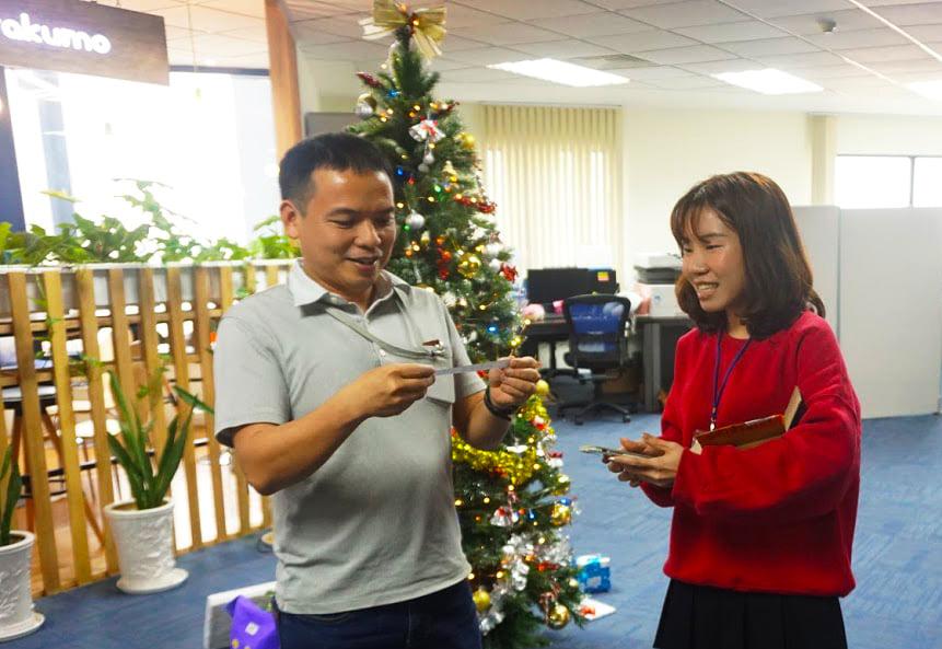 rakumo cùng Giáng Sinh 2019
