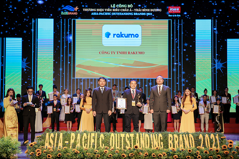 RAKUMO CO., LTD HONORED TO RECEIVE THE AWARD ASIA – PACIFIC OUTSTANDING BRANDS